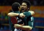 Brasileiros do tênis de mesa têm melhor resultado da história em Mundiais - AFP PHOTO / JOHANNES EISELE