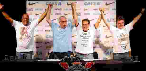Falta de unidade marca o histórico recente do grupo político que comanda o Corinthians - Daniel Augusto Jr/Agência Corinthians