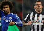 Juve e Chelsea podem ser campeões na rodada. Confira os torneios da Europa - Suzanne Plunkett/Reuters e GIUSEPPE CACACE / AFP