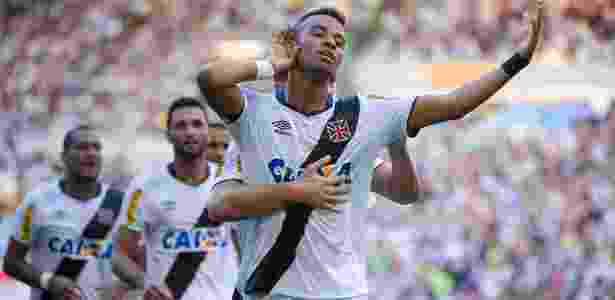 Rafael Silva comemora gol do Vasco contra o Botafogo na final do Estadual do Rio - Fernando Soutello/AGIF - Fernando Soutello/AGIF
