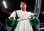 Canelo Alvarez é suspenso por seis meses após ser pego no antidoping - Al Bello/Getty Images/AFP