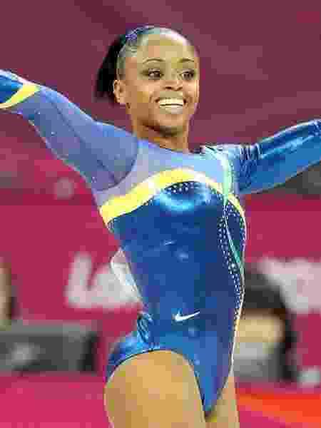 Daiane Dos Santos nos Jogos Olímpicos de Londres, sua última competição oficial - FLAVIO FLORIDO/UOL
