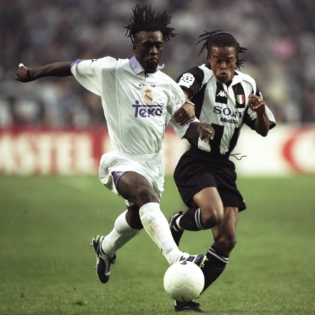 Clarence Seedorf atuou no Real Madrid entre 1996 a 2000 - Clive Brunskill/Getty Images Sport