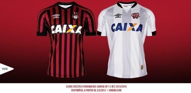 9402731784 Atlético-PR apresenta novas camisas  estreia acontece já neste ...
