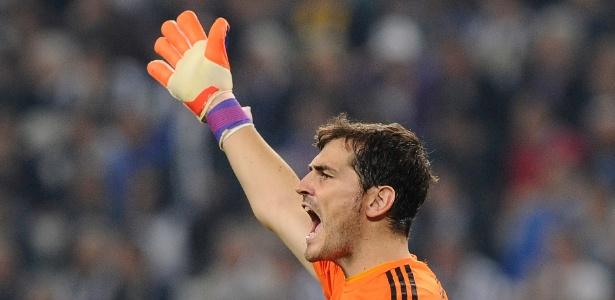 Casillas quando defendia o Real Madrid: Juventus mais compacta