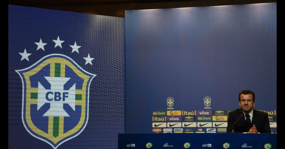 Dunga durante a convocação da seleção brasileira para a Copa América 2015