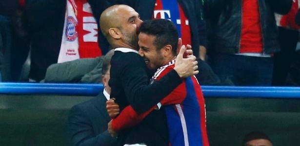 Thiago Alcântara tem grande admiração por Pep Guardiola