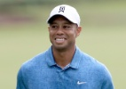 Woods está mais perto de astro da NBA do que de líder de ranking do golfe - Sam Greenwood/Getty Images/AFP