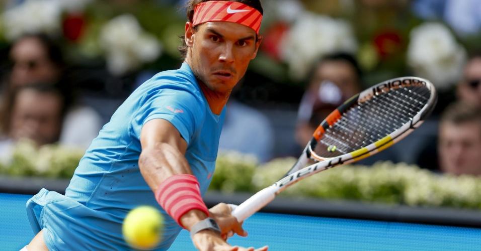 Rafael Nadal prepara golpe em sua estreia no Masters 1000 de Madri