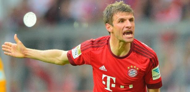 Thomas Müller acredita que Barcelona e Bayern de Munique estão no mesmo nível