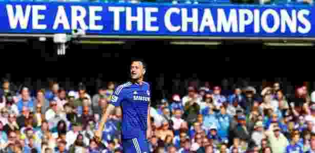 Ídolo da torcida do Chelsea, John Terry jogará mais um ano em Londres - Eddie Keogh/Reuters