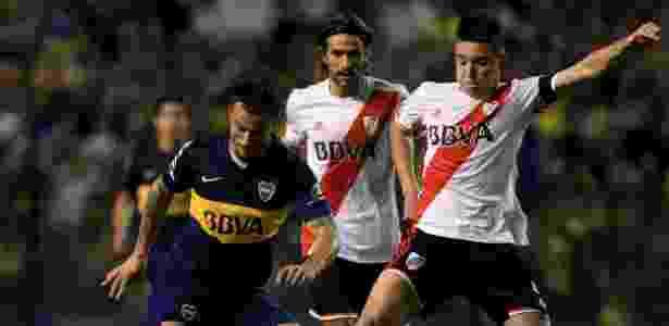 Pablo Daniel Osvaldo deixou a carreira de futebol em 2016, quando defendia o Boca Juniors - Xinhua/Martín Zabal - Xinhua/Martín Zabal