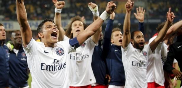 PSG conquistou neste domingo o tetracampeonato francês