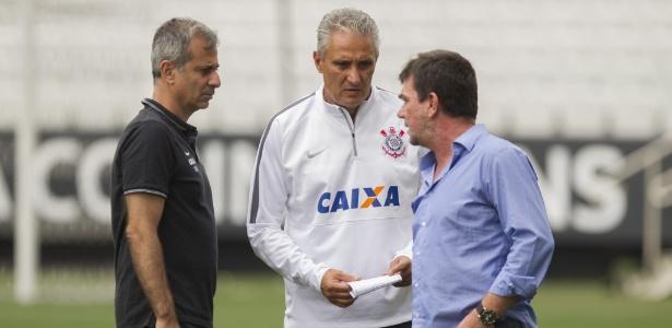 Superintendente de futebol participa de discussões sobre mudanças no Corinthians - Daniel Augusto Jr/Agência Corinthians