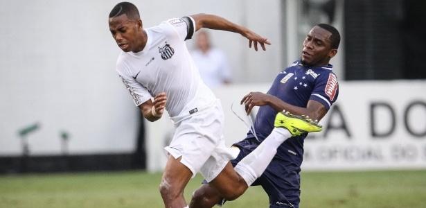 Santos ainda aguarda a resposta do ídolo Robinho - Ricardo Nogueira/Folhapress