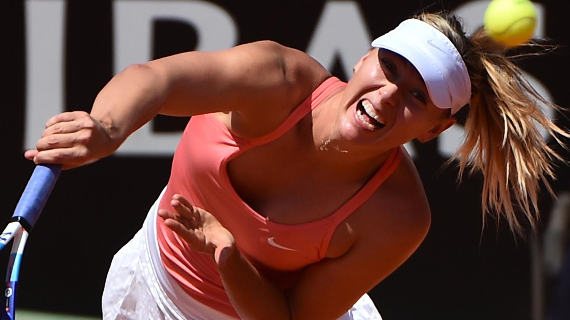 Sharapova sagrou-se campeã em Roma nos anos de 2012 e 2011