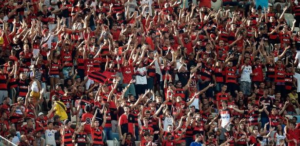 A força da torcida no Maracanã é um trunfo do Flamengo contra a má fase