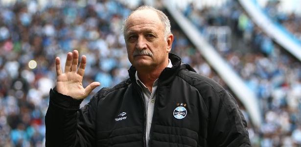 Felipão não se deu bem quando contratado para terceira passagem no clube - Lucas Uebel/Gremio FBPA