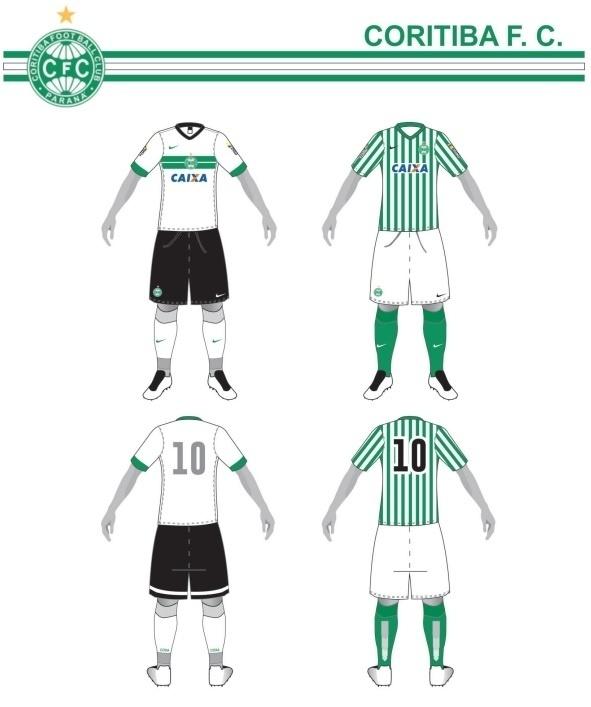 Uniformes do Coritiba para o Campeonato Brasileiro 2015