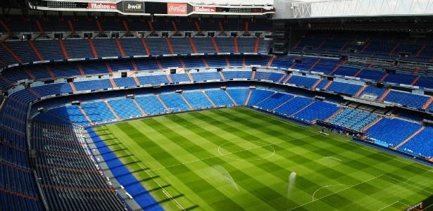 Santiago Bernabéu foi o palco escolhido pela Conmebol para receber River x Boca - Reprodução