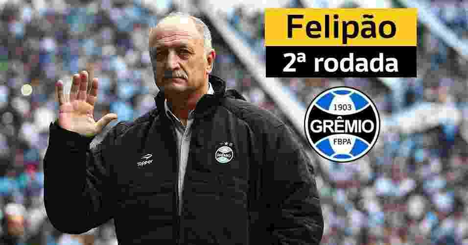 Técnicos demitidos no Brasileiro 2015 - Lucas Uebel/Gremio FBPA