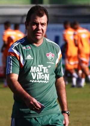 Enderson comandou o Fluminense na temporada passada