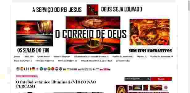 fut e satanismo 06 - Reprodução - Reprodução