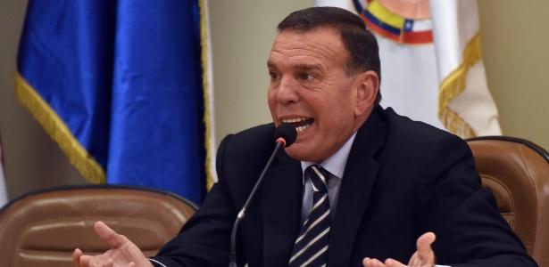 Juan Angel Napout deixou a presidência da Conmebol após escândalos de corrupção