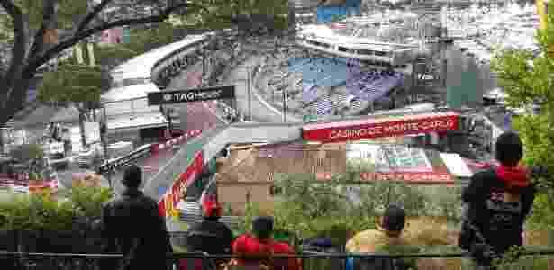 Torcedores assistem às atividades do GP de Mônaco de Fórmula 1 - Julianne Cerasoli/UOL - Julianne Cerasoli/UOL