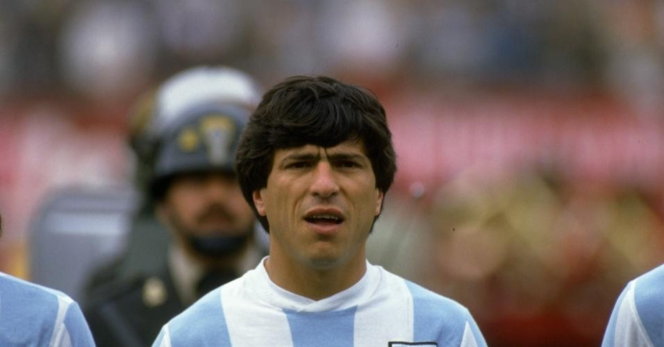 Daniel Passarella, zagueiro da Argentina