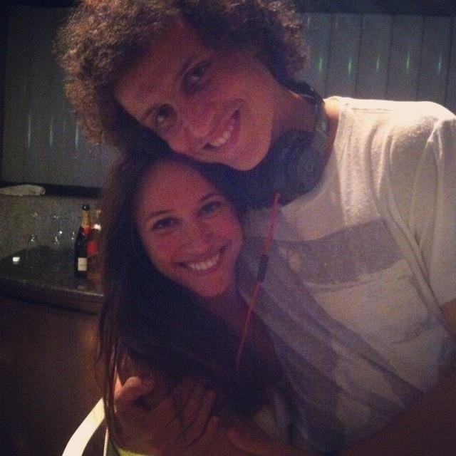 David Luiz e Sara Madeira namoram desde 2011, mas evitam expor a relação publicamente