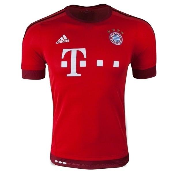 4bb08fac67ab7 Nova camisa do Bayern de Munique para temporada 2015 2016 é divulgada