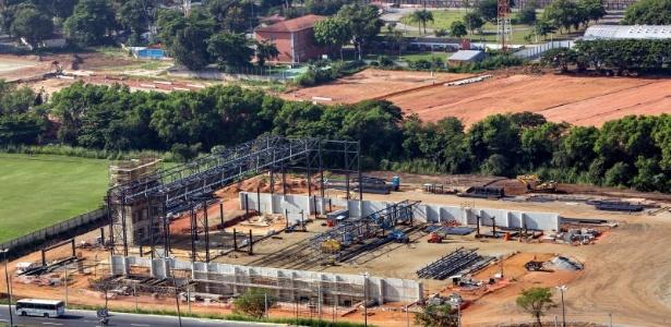Obras olímpicas nas regiões de Deodoro, Barra e Vila Olímpica