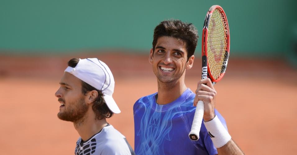 Bellucci abre o sorriso após vencer João Sousa na final do ATP 250 de Genebra