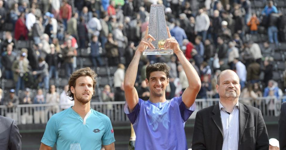 Bellucci ergue a taça do ATP 250 de Genebra após derrotar João Sousa