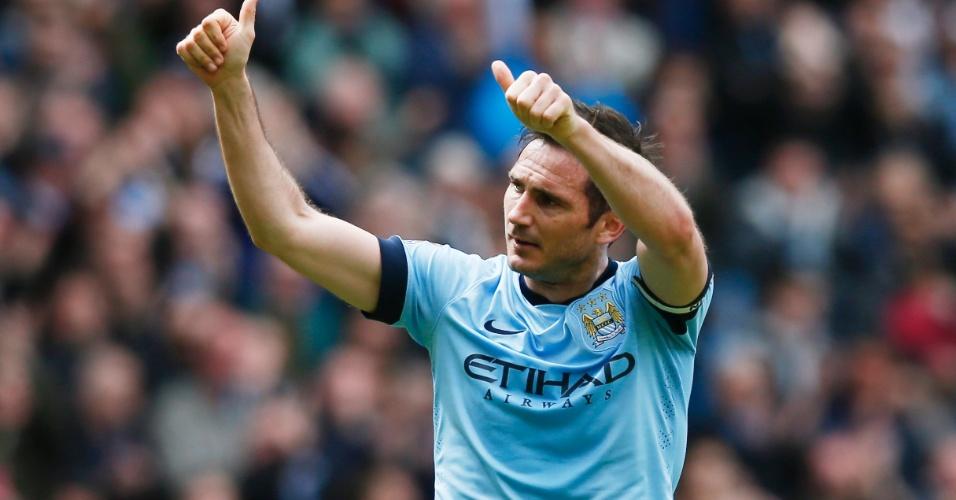 Lampard saúda torcedores em seu último jogo do Inglês