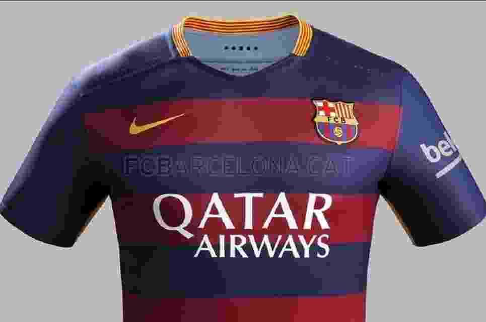 Camisa polêmica do Barcelona será abolida em 2016 eb03bfa274451