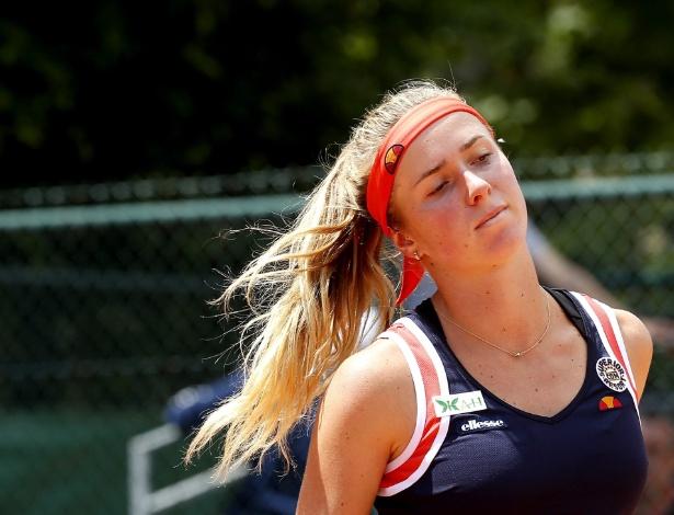 Elina Svitolina em sua estreia em Roland Garros - Etienne Laurent/EFE