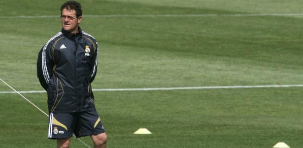Capello e Ronaldo trabalharam juntos em 2006/07.