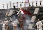Tocha dos Jogos Pan-Americanos é acesa no México - REUTERS/Henry Romero