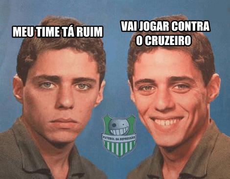 4e1abf73c2 Cruzeiro vira alvo de piadas após derrota por 3 a 0 para o River Plate no  Mineirão