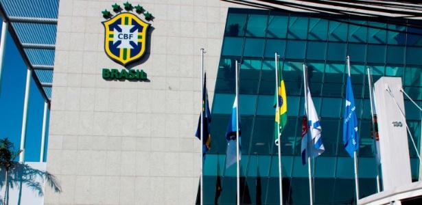 Fachada da sede da CBF; futuro presidente, Caboclo diz que não pode assumir VAR