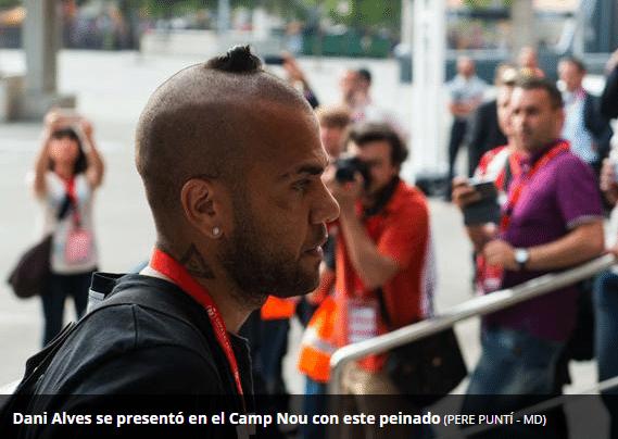 O jornal espanhol Mundo Deportivo não deixou o cabelo passar batido e classificou o corte de surpreendente