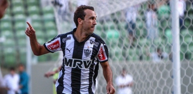 Thiago Ribeiro marcou nove gols pelo Atlético-MG no Brasileirão do ano passado
