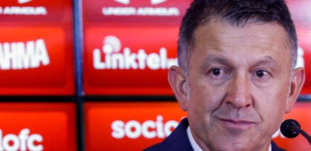 Juan Carlos Osorio pode trocar o São Paulo pela seleção do México - Marcello Zambrana/AGIF
