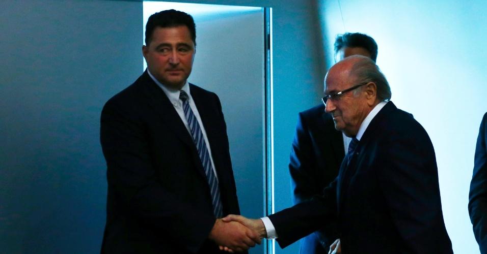 Domenico Scala, membro do comitê executivo da Fifa, vai comandar o processo de transição e a nova eleição