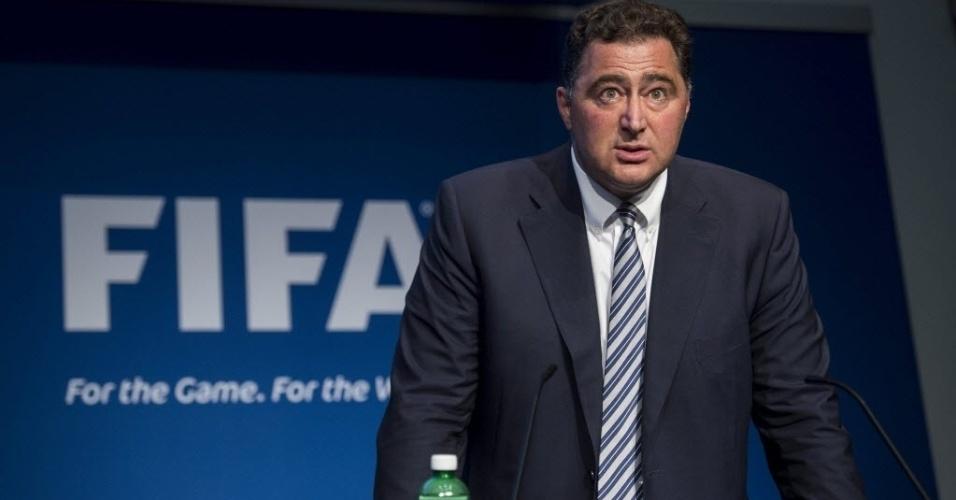 Domenico Scala, presidente do Comitê de Auditoria da Fifa, será o responsável por organizar uma nova eleição