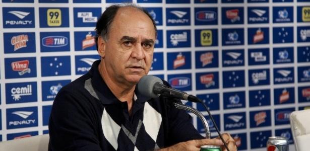 Marcelo Oliveira, em última entrevista coletiva no Cruzeiro