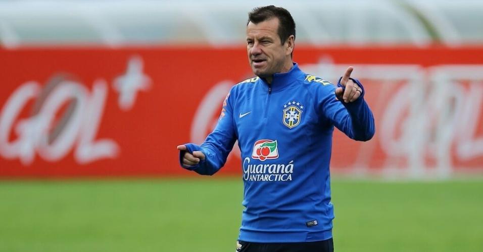 Dunga comanda treinamento da seleção nesta quarta-feira, em Teresópolis