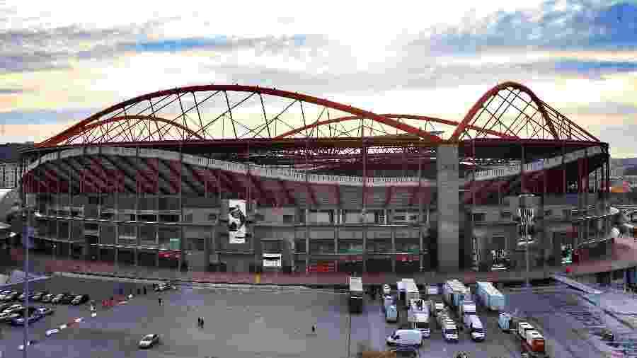 Estádio da Luz, em Lisboa, receberá a final europeia novamente após seis anos - Getty Images